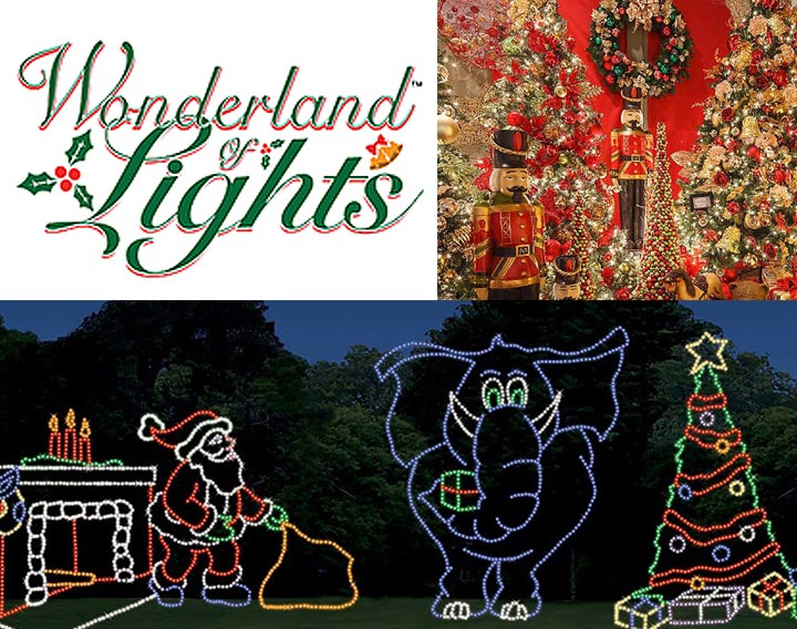 15 nov experience the wonderland of lights pensacolas newest most spectacular holiday attraction at the pensacola interstate fairgrounds